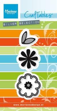 Marianne Design FLOWERS SWEET - Щанци за рязане, ембос CR1358