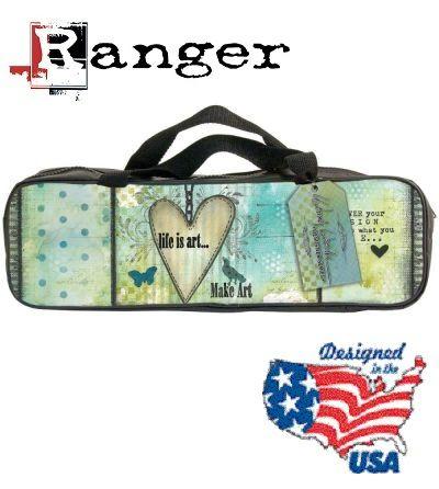 Designer Accessory Bag WENDY LIFE is ART- Дизайнерска чанта / несесер с цип за аксесоари.