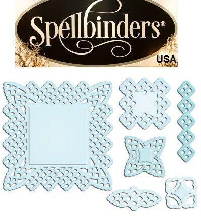 Spellbinders USA - К-кт шаблони за изрязване и ембос S5-063