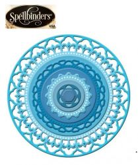 Spellbinders USA - К-кт шаблони за изрязване и ембос S4-354