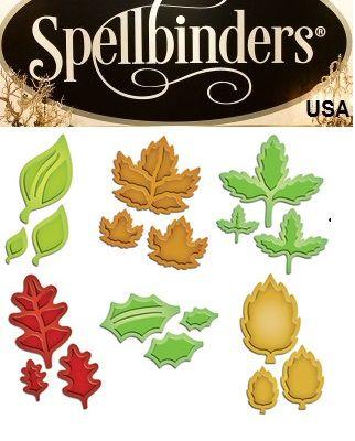 Spellbinders USA - К-кт шаблони за изрязване и ембос S4-385