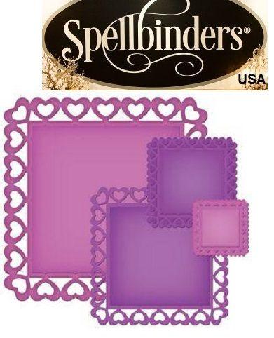Spellbinders USA - Универсални шаблони за изрязване и ембос S4-343