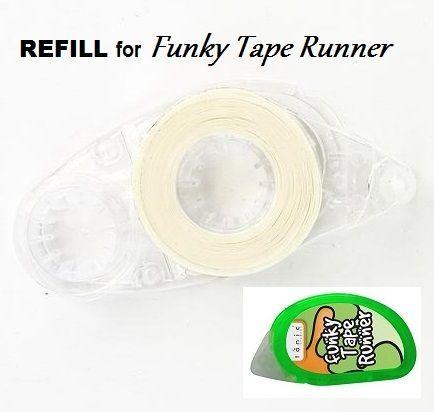 TONIC FUNKY TAPE RUNNER REFILL - ПЪЛНИТЕЛ с двойнолепяща лента 10m