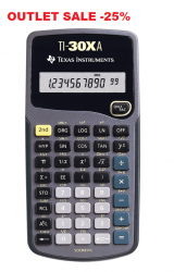 TEXAS INSTRUMENTS TI-30XAEU - Scientific calculator