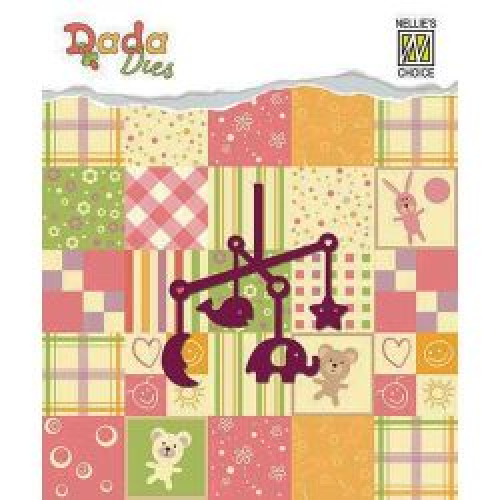 BABY DADA Die  - Фигурална щанца за рязане и релеф DDD004