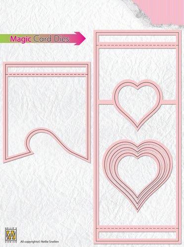 CARD Special Die - Фигурални щанци за рязане и релеф,  MCD002