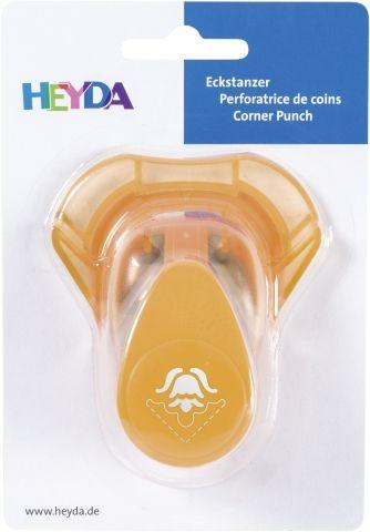 HEYDA Corner Punch  - Дизайн пънч TULIP