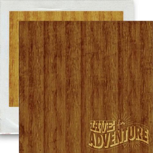 GLITZ WOODGRAIN ,USA 12 X 12  - Дизайнерски скрапбукинг картон 30,5 х 30,5 см.