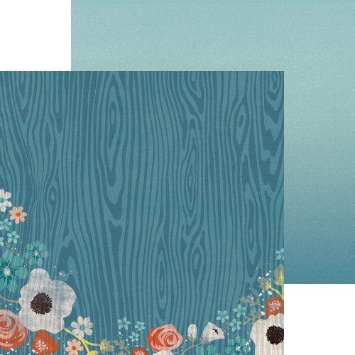 MME USA  # NOTED DETAIL  12 X 12  - Дизайнерски скрапбукинг картон 30,5 х 30,5 см.