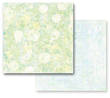 PRIMA POETRY ,USA 12 X 12  - Дизайнерски скрапбукинг картон 30,5 х 30,5 см.