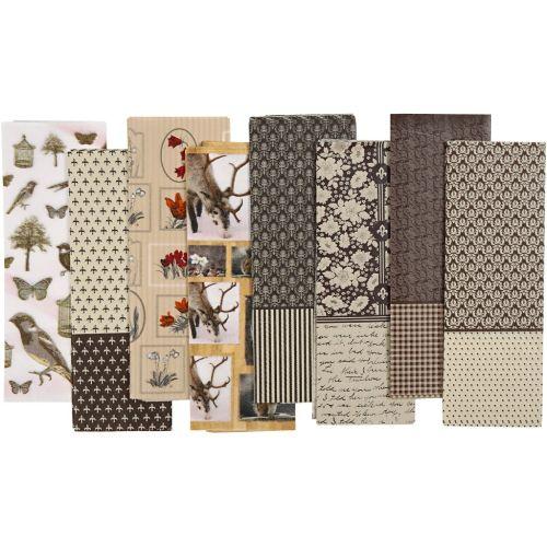 Decoupage Paper 25x35 cm, 17 g,OSLO 8 sheets - ТИШУ ДЕКУПАЖНА ХАРТИЯ 8 листа
