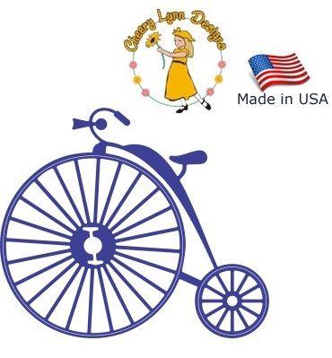 BIKE Cheery Lynn USA - Шаблон за рязане и ембос / b356
