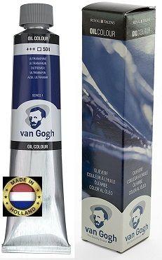 VAN GOGH OIL - Маслена боя 200 мл. - Ултрамарин / 504