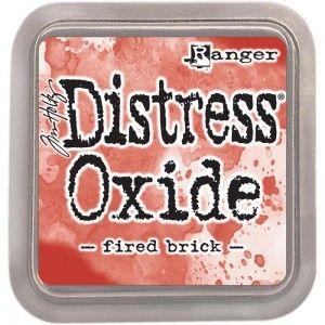 DISTRESS OXIDE тампон - FIRED BRICK