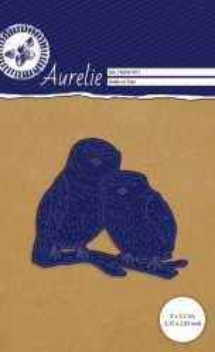 AURELIE OWLS Die  - Фигурална щанца за рязане и релеф
