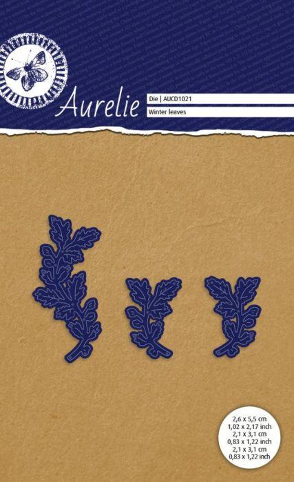 AURELIE LEAVES  Die  - Фигурална щанца за рязане и релеф