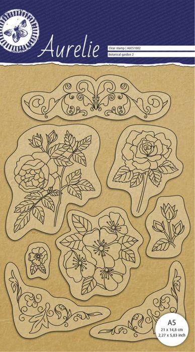 AURELIE GARDEN 2  - Дизайнерски силиконови печати