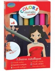 COLORS METALLIC MARKER SET - Металикови маркери к-кт 6бр