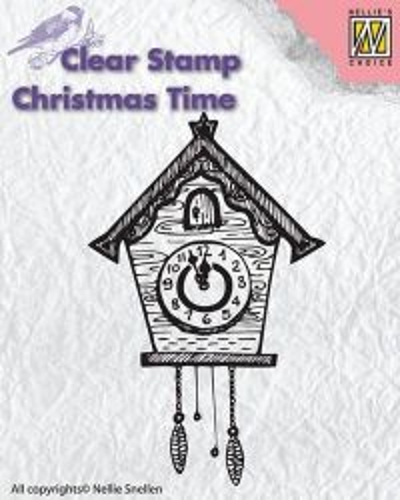 Nellie Snellen Clear Stamps - Дизайн прозрачен печат, CT012