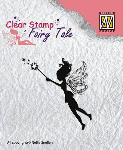 FAIRY  TALE - Дизайнерски прозрачен печат FTCS001