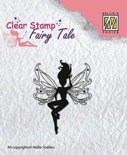 FAIRY  TALE - Дизайнерски прозрачен печат FTCS003