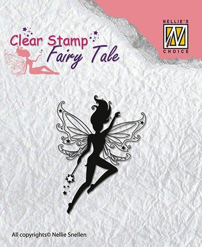 FAIRY  TALE - Дизайнерски прозрачен печат FTCS004