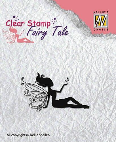 FAIRY  TALE - Дизайнерски прозрачен печат FTCS005