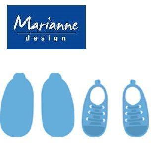 Marianne Design  - Шаблон за рязане и ембос LR0304