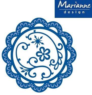 Marianne Design - Шаблон за рязане и ембос 5 бр.