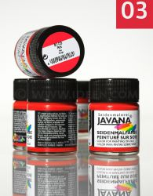 JAVANA SILK 50ml - Пигментна боя за рисуване върху коприна,