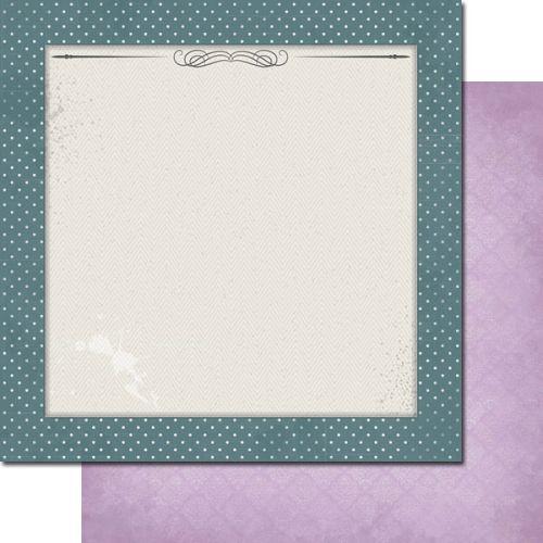 7 DOTS STUDIO # ALL I EVER - Дизайнерски картон  30,5 Х 30,5 см.