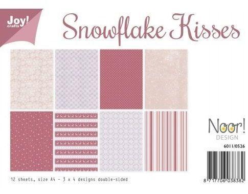 JOY PAD SNOWFLAKE KISSES -  Дизайн блок 12sheet, 4X3 designs, A4