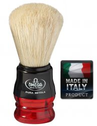 OMEGA10777 Pure bristle shaving brush 98mm