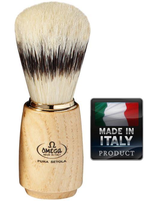 Omega 11150 Pure bristle shaving brush BADGER EFFECT 115mm