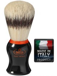 OMEGA 11574 Pure bristle shaving brush BADGER EFFECT 106mm