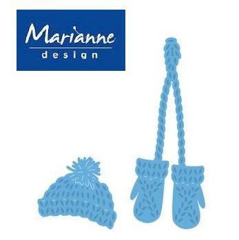 Marianne Design - Шаблон за рязане и ембос LR0440