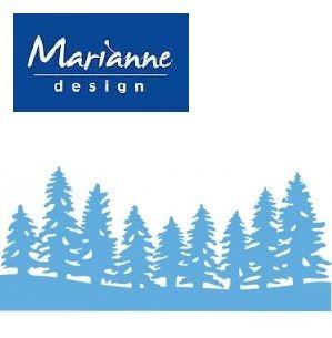 Marianne Design - Шаблон за рязане и ембос LR0444