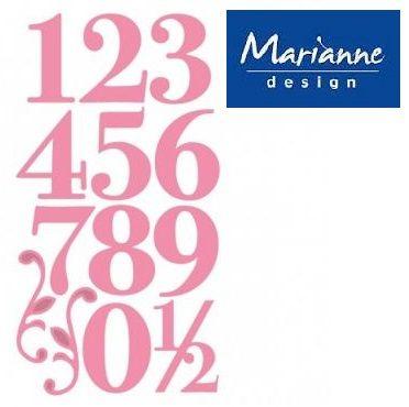 Marianne Design - Шаблон за рязане и ембос COL1418