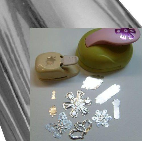 SILVER METAL FOIL 70micr - Фолио метално за релеф и заточване на пънчове СРЕБРО