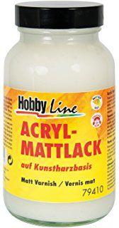 ACRYL МАТТ LACK - Декорационен Синтетичен лак мат 250мл