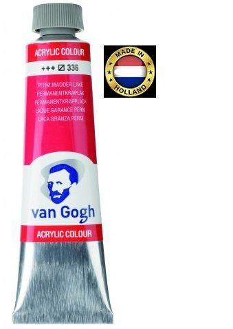 VAN GOGH Superfine ACRYLIC 336 - ЕКСТРА Фин АКРИЛ 40мл. PERM. KRAPLAK