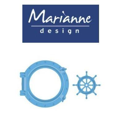 Marianne Design  - Шаблон за рязане и ембос LR0417
