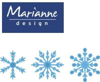 Marianne Design  - Шаблони за рязане и ембос LR0393