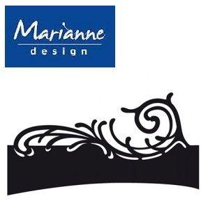 Marianne Design WAVE - Шаблон за рязане и ембос