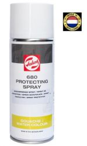 SPRAY TALENS PROTECTING spray - ЛАК за ТЕМПЕРА и АКВАРЕЛ  400 мл.