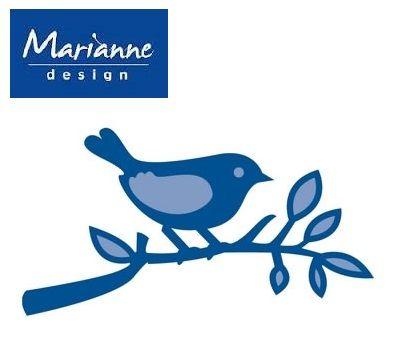 Marianne Design - Шаблон за рязане и ембос LR0137