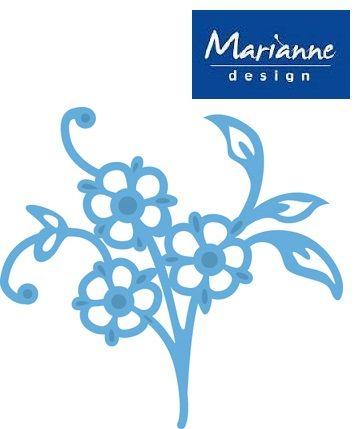 Marianne Design - Шаблон за рязане и ембос LR0251