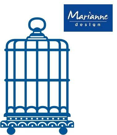 Marianne Design - Шаблон за рязане и ембос