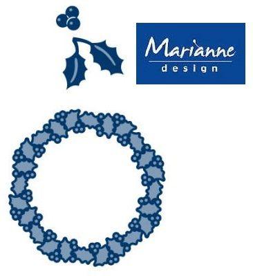 Marianne Design - Шаблон за рязане и ембос LR0127