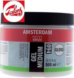 GEL MEDIUM GLOSS , Talens - Гел Медиум Гланц 500мл